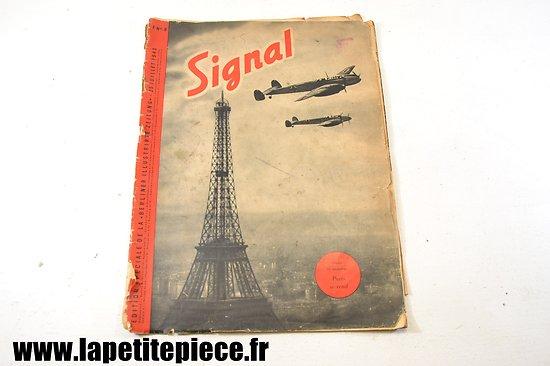 Revue SIGNAL du 25 juillet 1940