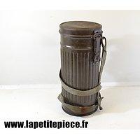 Boitier de masque à gaz Allemand Deuxième Guerre Mondiale