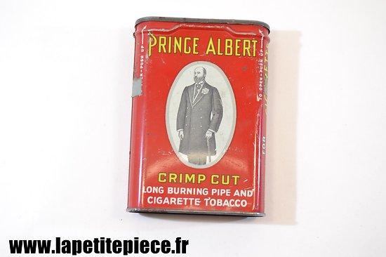 Boite de tabac américaine Prince Albert Cigarette Tobacco