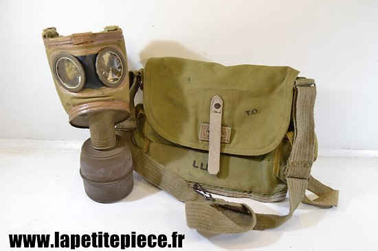 Masque à gaz ANP 31 - France WW2 1940