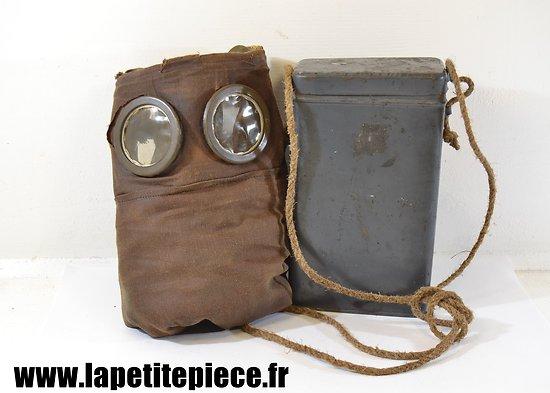 Reproduction masque à gaz M2 Première Guerre Mondiale