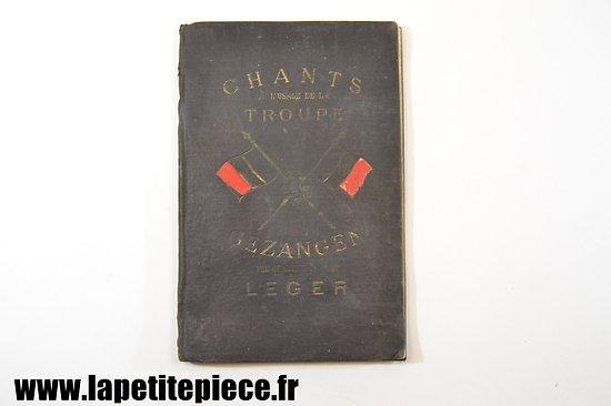 BELGIQUE - Chants à l'usage de la troupe Verzameling van Zangen ten Gebruike van het Leger