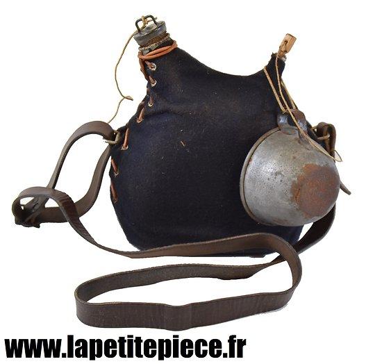 Bidon modèle 1877 Chasseurs - 2L reconditionné, France WWI