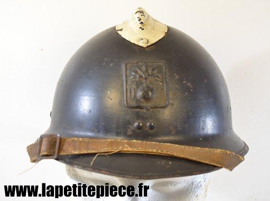 Casque Français défense passive Deuxième Guerre Mondiale