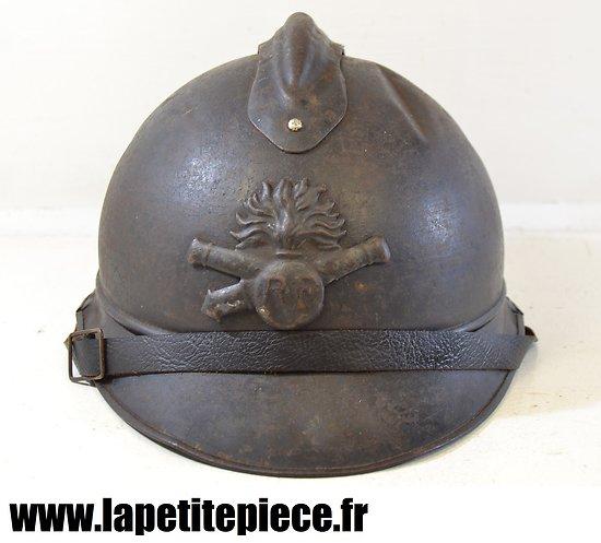 Casque Français Adrian 1915 - Artilleur
