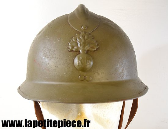 Casque Français Deuxième Guerre Mondiale reconditionné
