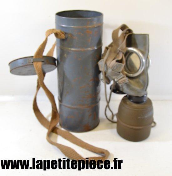 Masque à gaz défense passive VERNON - France WW2