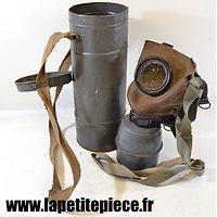 Masque à gaz défense passive FATRA (fabrication Tchèque) - France WW2