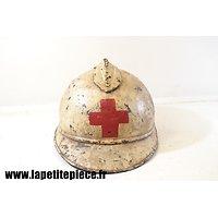 Casque Adrian 1915 - reconditionné Croix Rouge (CRF)