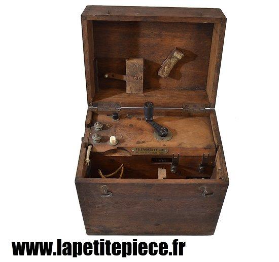Boitier téléphone LE LAS modèle 1916