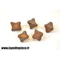 Chausse trappe Caltrop - Première Guerre Mondiale