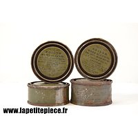 Ensemble de boites réchaud de ration US WW2 - Poison Wood Alcohol