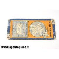 Carte Michelin 1929 - secteur VERDUN - SARREBRUCK