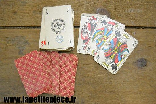 Jeu de cartes Français années 1940 - 1950