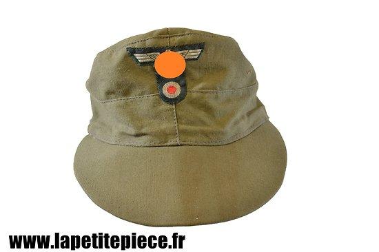 Repro casquette d'été - Feldmütze - Armée Allemande