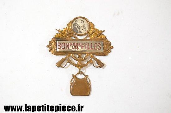 Broche BON POUR LES FILLES