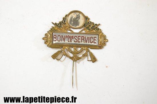Broche BON POUR LE SERVICE