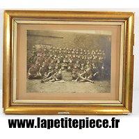 """Cadre photo Armée Belge """"les vainqueurs de la crête de Passchendaele 1918"""