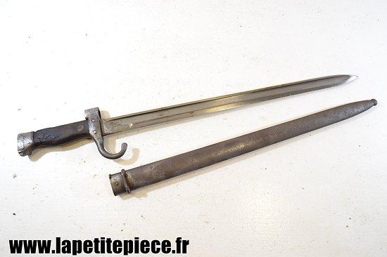 Baionnette Berthier Mousqueton 1892 quillon long