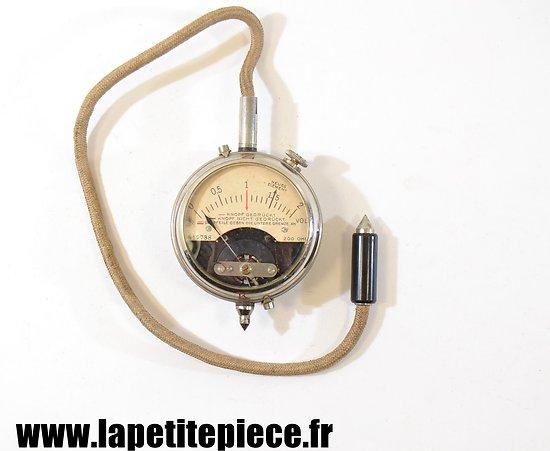 Voltmètre Allemand Première Guerre Mondiale