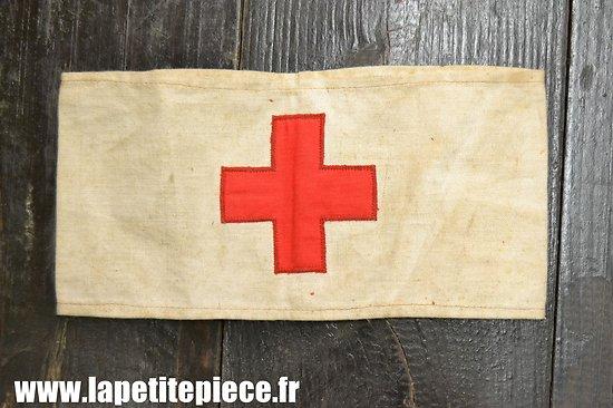 Brassard croix rouge, début - milieu 20e Siècle