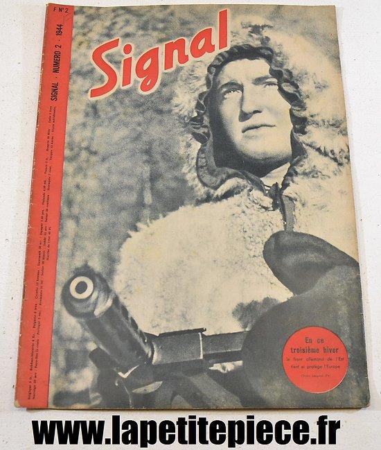 Signal numéro 2 Fr. - 1944 (magazine de propagande)