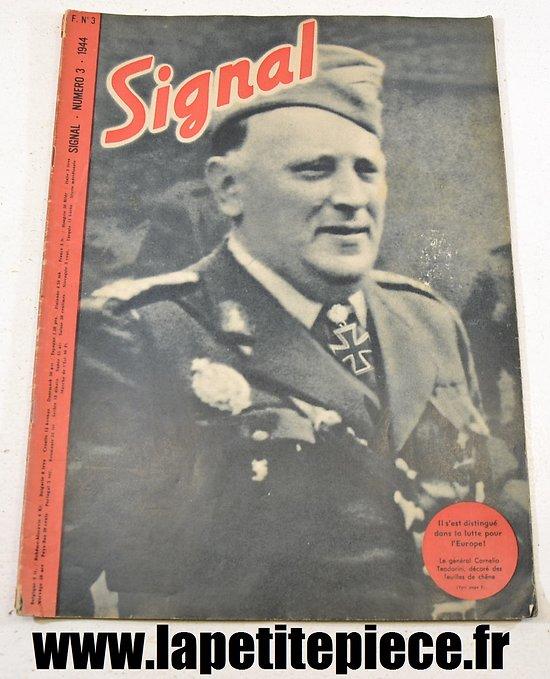 Signal numéro 3 Fr. - 1944 (magazine de propagande)