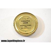 Boite de ration US WW2 - Blackberry Jam - Baumer Foods inc. New Orleans