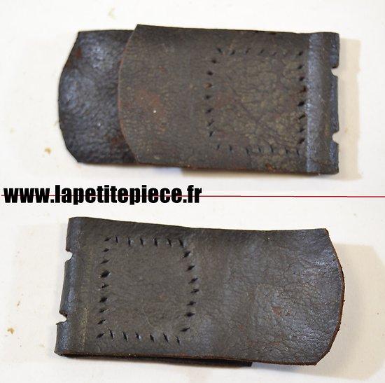 Repro patte de ceinturon cuir ancien