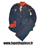 Uniforme Allemand bleu-nuit, tenue de campagne avant 1907