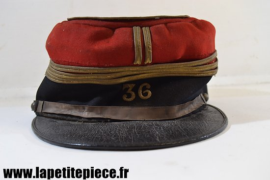 Képi de capitaine du 36 Régiment d'Infanterie