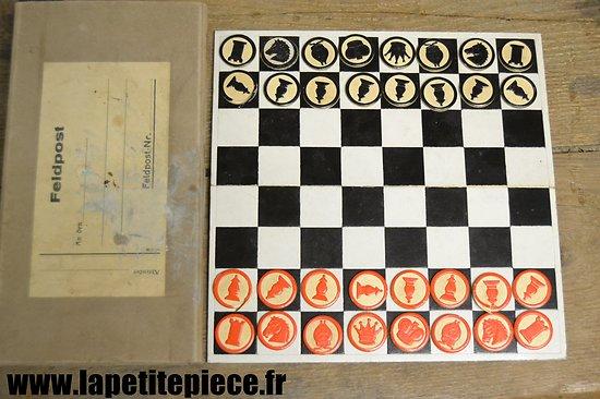 Jeu d'échecs Allemand Deuxième Guerre Mondiale.