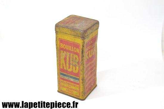 Boite Bouillon KUB - Première Guerre Mondiale
