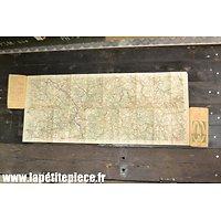 Carte Michelin Gien-Auxerre vers 1919