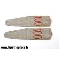 Repro pattes d'épaule 100 R SAXON - Première Guerre Mondiale