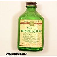 Antiseptic Squibb américain US / WW2. Matériel médical