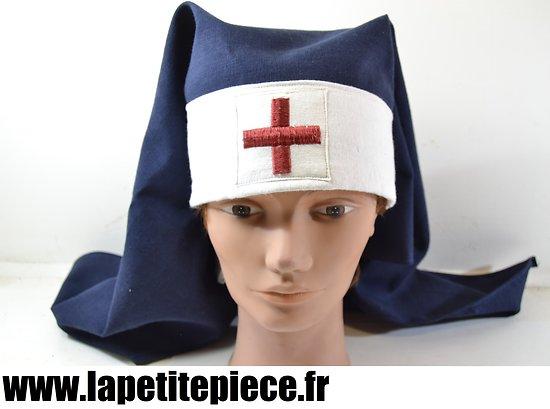 Repro voile de sortie infirmière Française Première ou Deuxième Guerre Mondiale