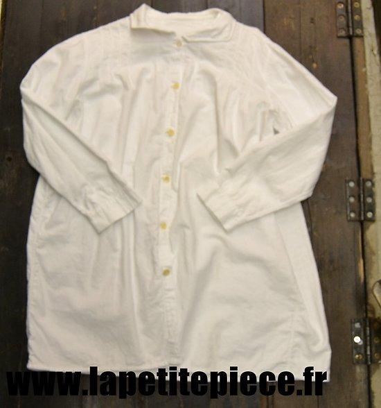 Chemise blanche civile début 20e Siècle