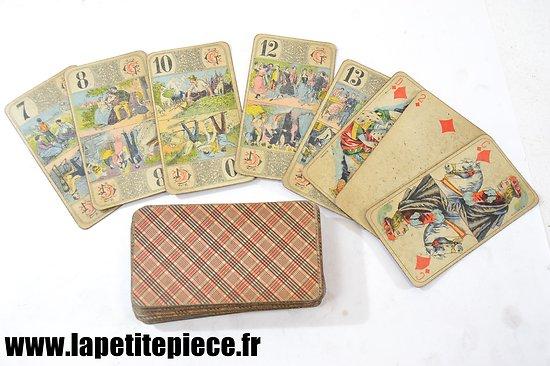 Jeu de cartes Tarot - début 20e Siècle (Grimaud)