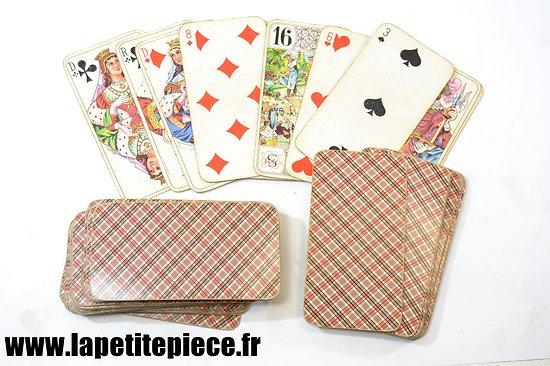 Jeu de cartes ancien Tarot (La Ducalle)
