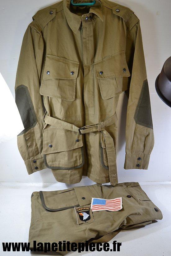 Repro uniforme XXL - parachutiste Américain M-1942