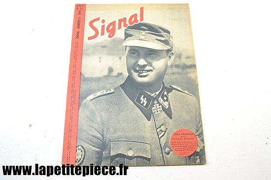 Signal numéro 5 Fr. - 1944 (magazine de propagande)