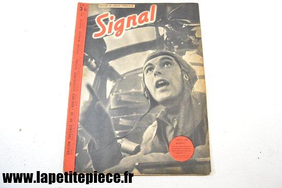 Signal numéro 4 Fr. - 1941 (magazine de propagande)