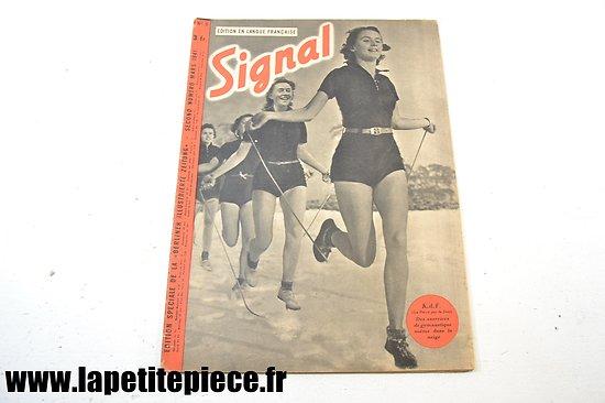 Signal numéro 6 Fr. - 1941 (magazine de propagande)