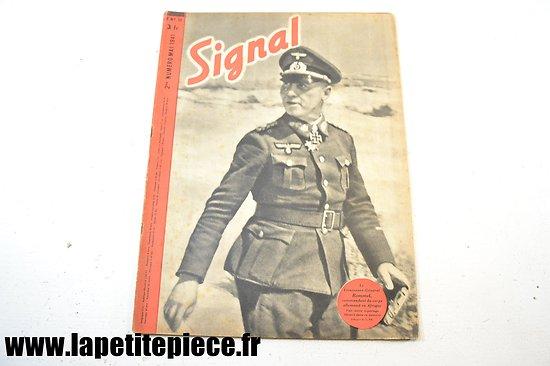 Signal numéro 10 Fr. - 1941 (magazine de propagande) Rommel