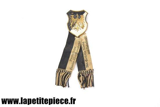 Médaille associative des Lands Prussien Première Guerre Mondiale. Abzeichen Preussischer Landes Kriegerverband