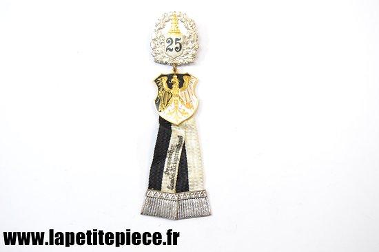 Médaille associative des Lands Prussien 25 ANS - Première Guerre Mondiale. Abzeichen Preussischer Landes Kriegerverband