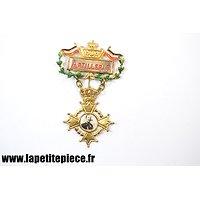 Broche patriotique ARTILLERIE - Wilhelm II