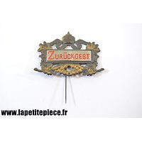 "Badge de réserviste différé - Reservistenabzeichen "" Zurückgestellt """