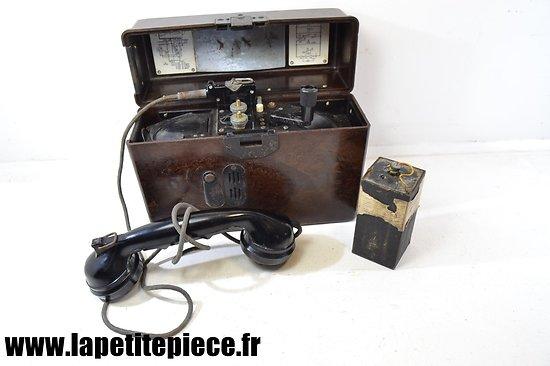 Téléphone de campagne Allemand - 1943 Feldfernsprecher 33